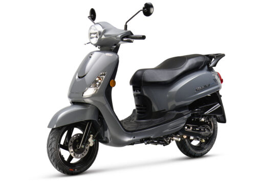 SYM Fiddle II Rich Grey - populaire scooter