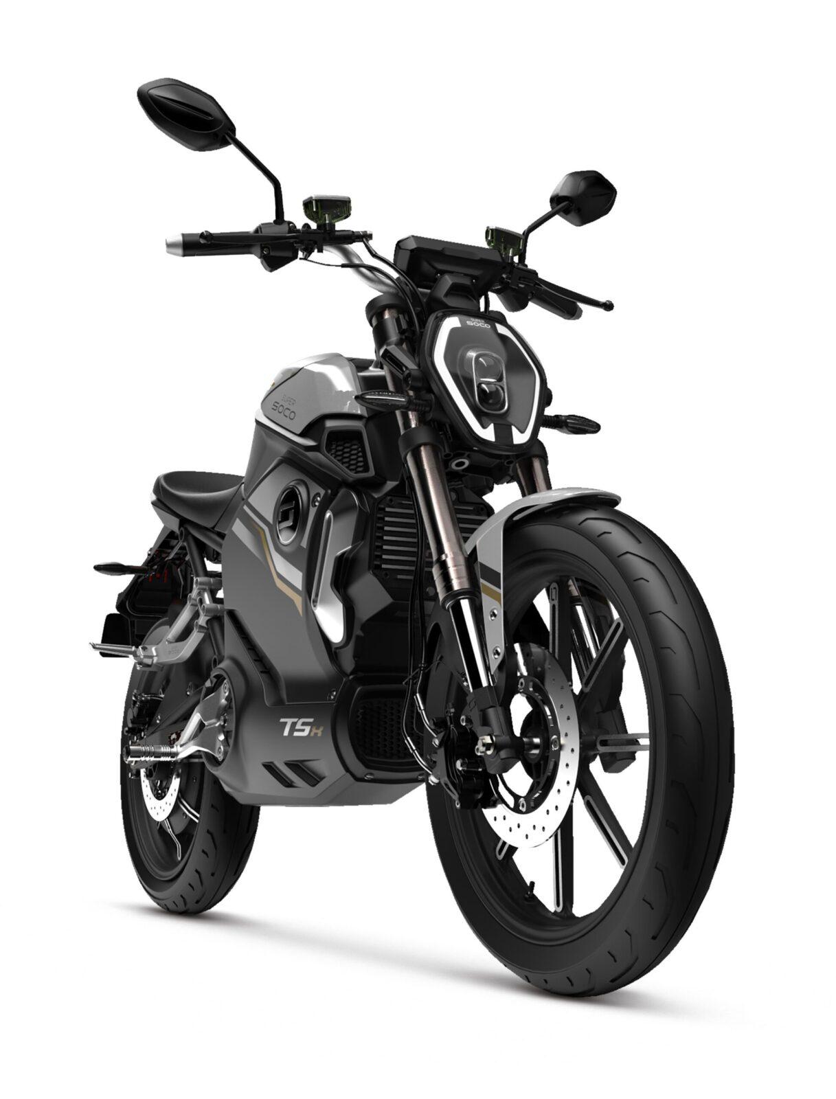 Super Soco TSX Black